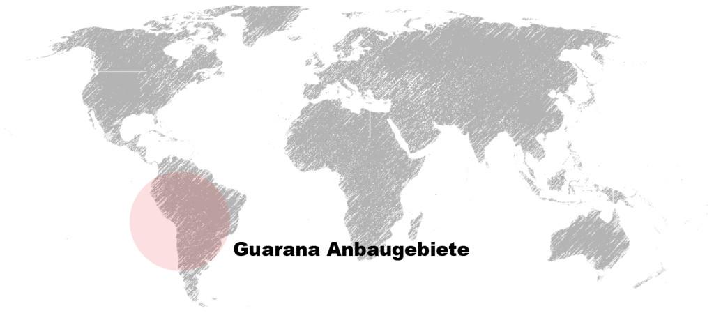 Guarana Anbaugebiete